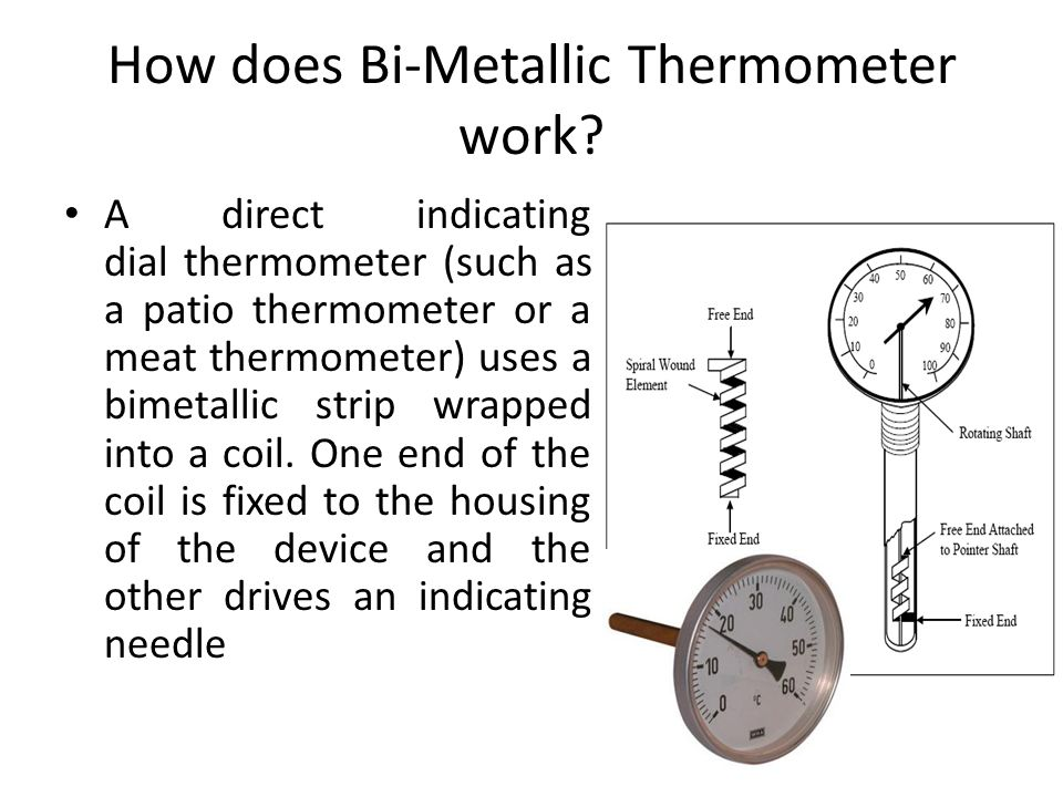 How does Bi-Metallic Thermometer work.