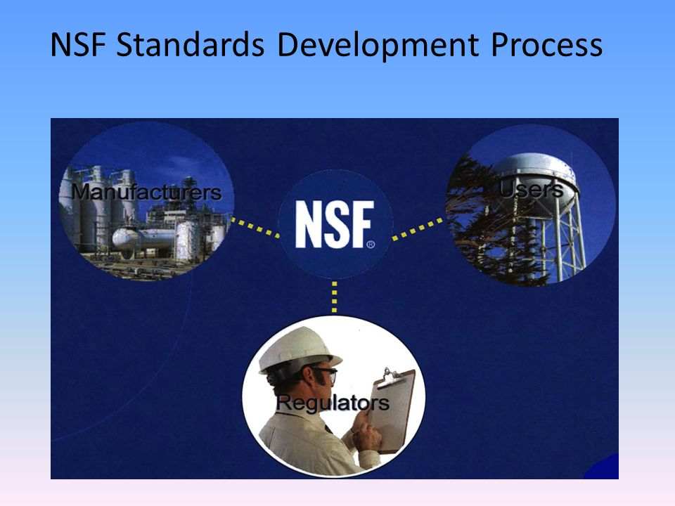 NSF Standards Development Process