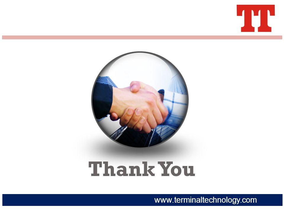 www.terminaltechnology.com Thank You