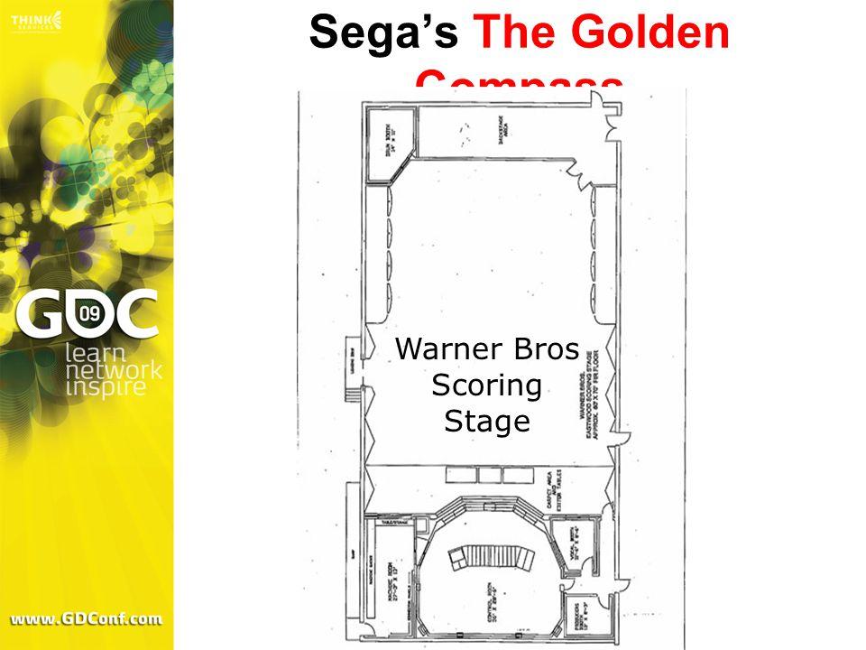 Sega's The Golden Compass Warner Bros Scoring Stage