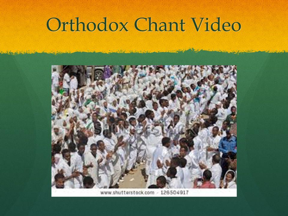 Orthodox Chant Video