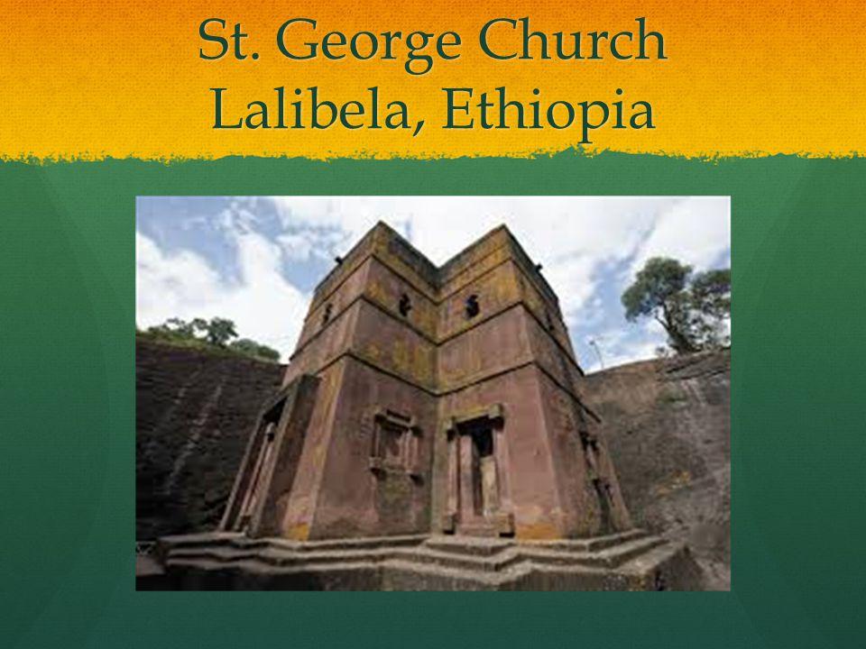 St. George Church Lalibela, Ethiopia