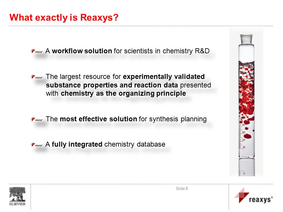What exactly is Reaxys.