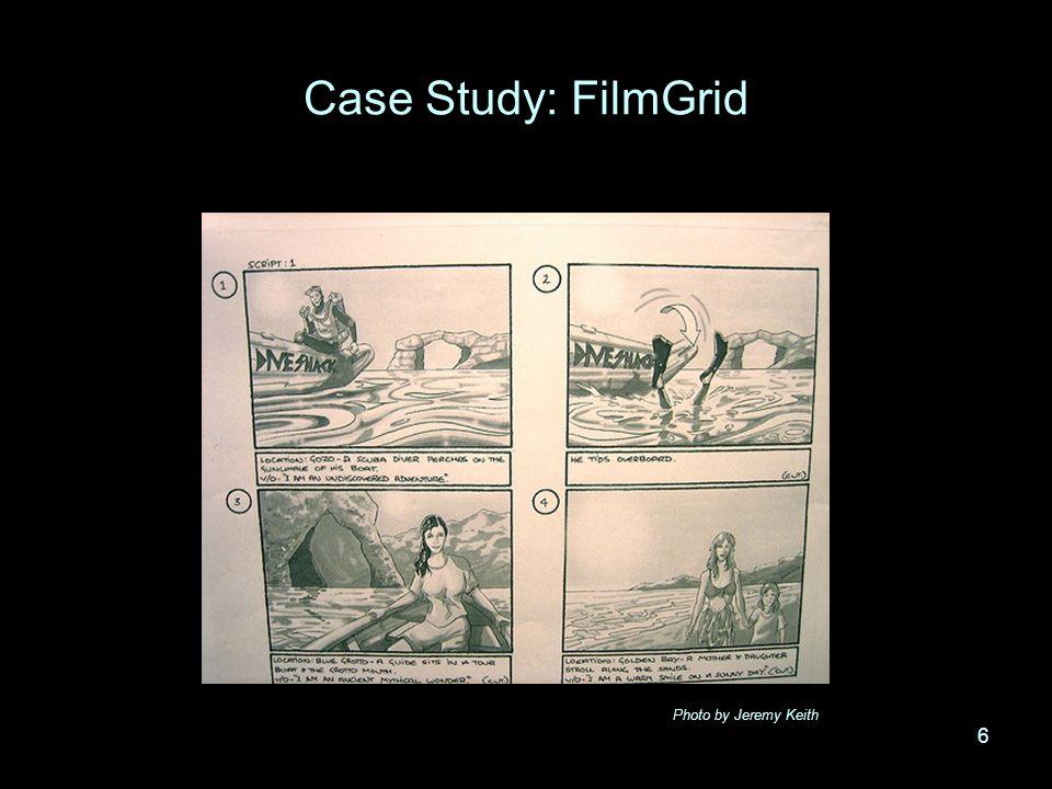 6 Case Study: FilmGrid 6 Photo by Jeremy Keith