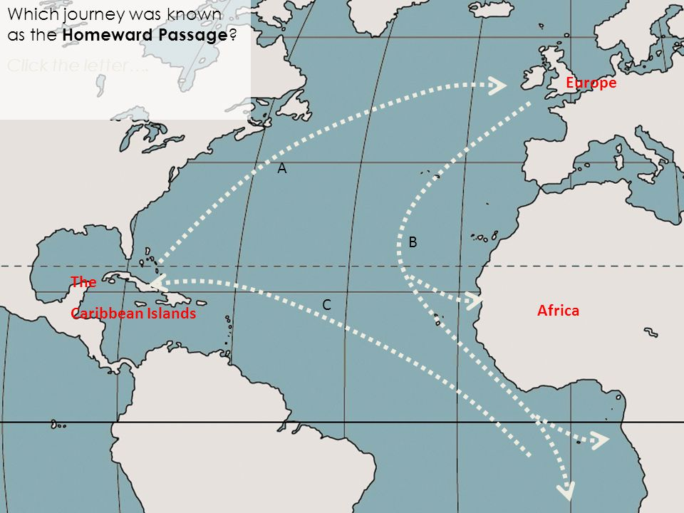 Africa Which journey was known as the Homeward Passage .