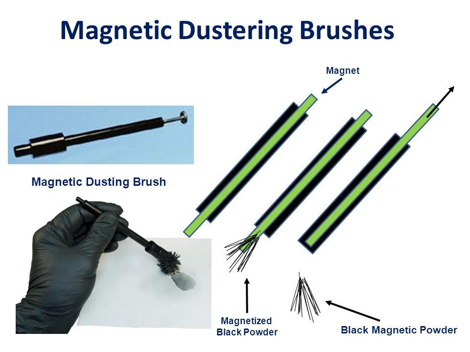 Magnetic Dustering Brushes Black Magnetic Powder Magnetized Black Powder Magnet Magnetic Dusting Brush