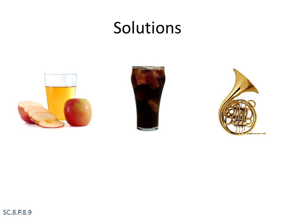 Solutions SC.8.P.8.9