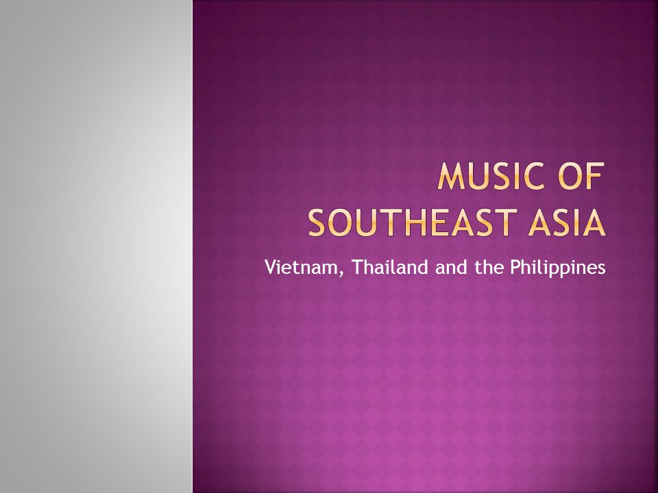  Luk thung, or Thai country music, developed in the mid-20th century to reflect daily trials and tribulations of rural Thais.