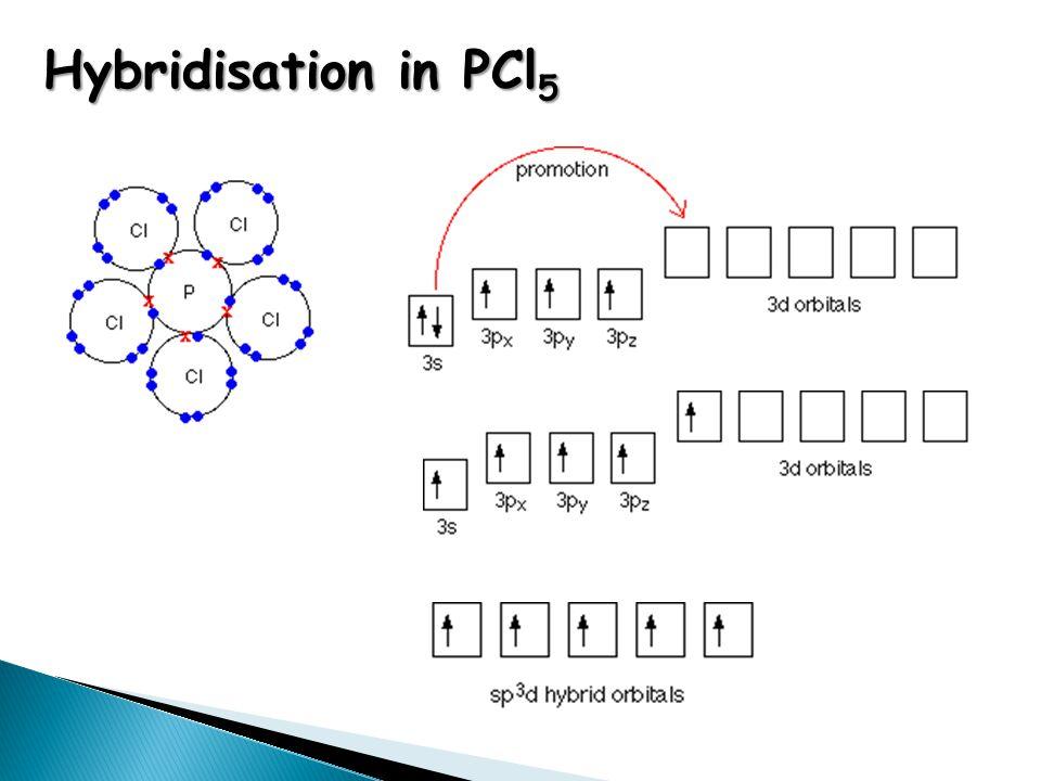 Hybridisation in PCl 5