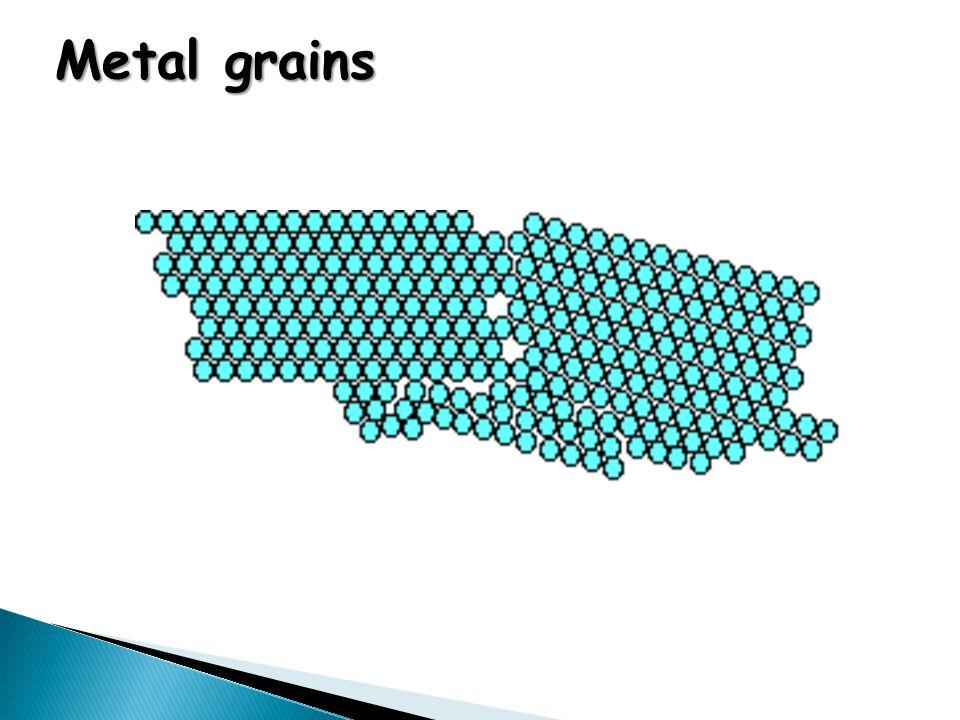 Metal grains