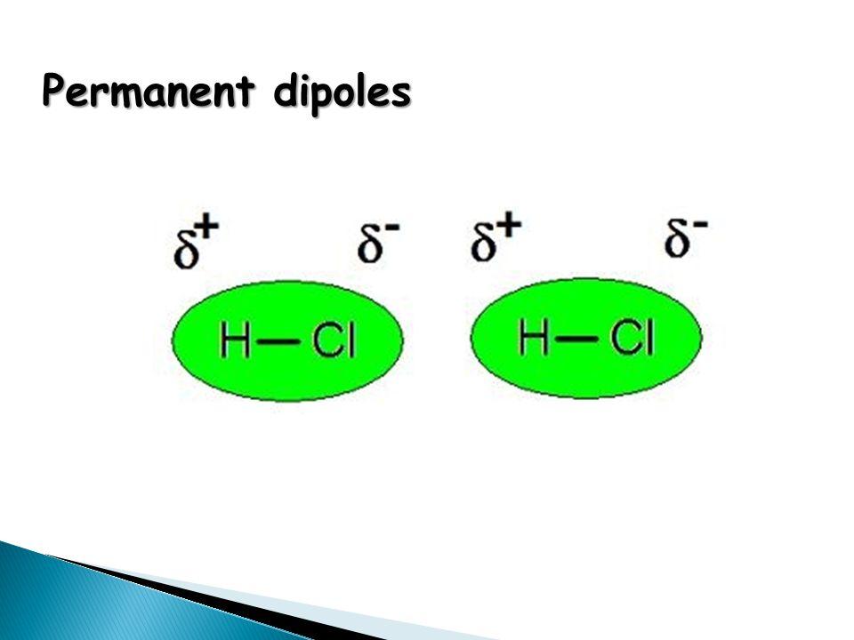 Permanent dipoles