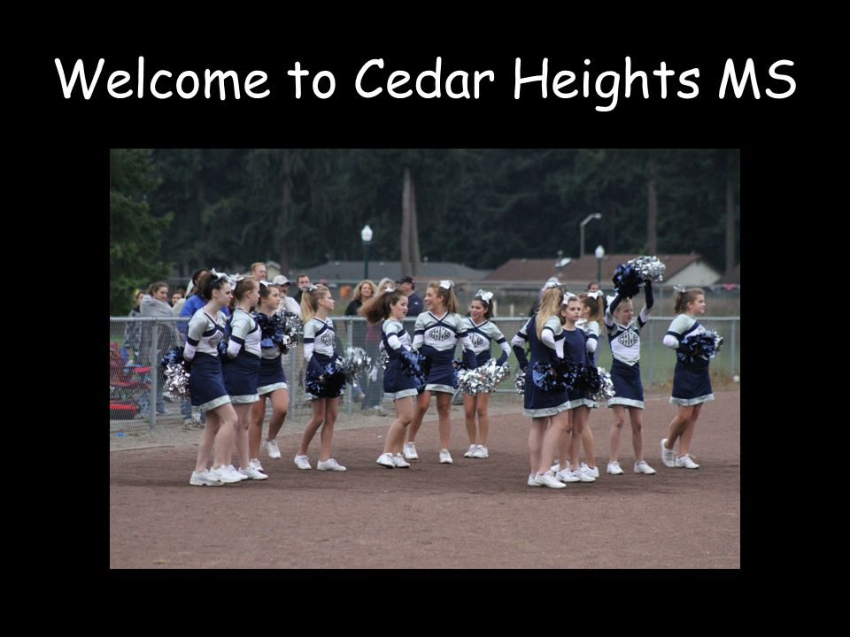Welcome to Cedar Heights MS