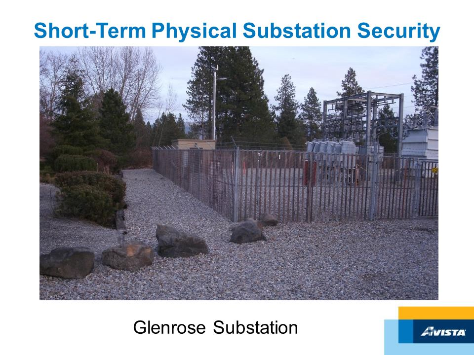 Short-Term Physical Substation Security Glenrose Substation