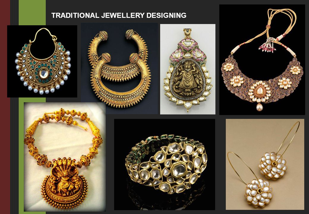 TRADITIONAL JEWELLERY DESIGNING