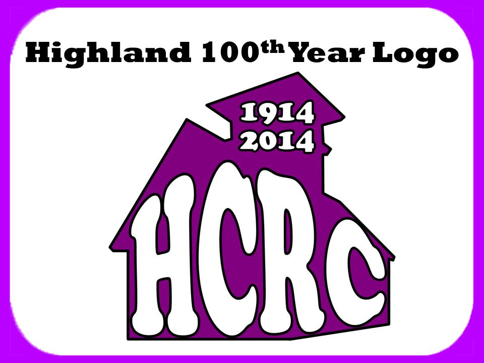Highland 100 th Year Logo