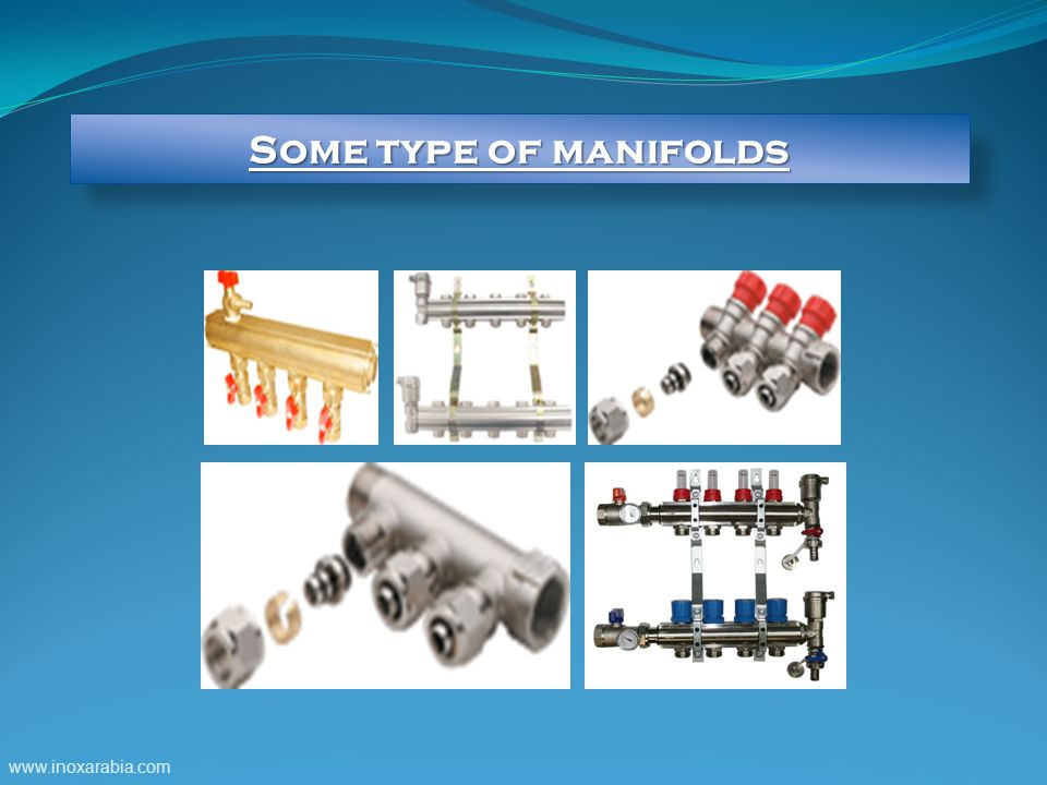 Some type of manifolds