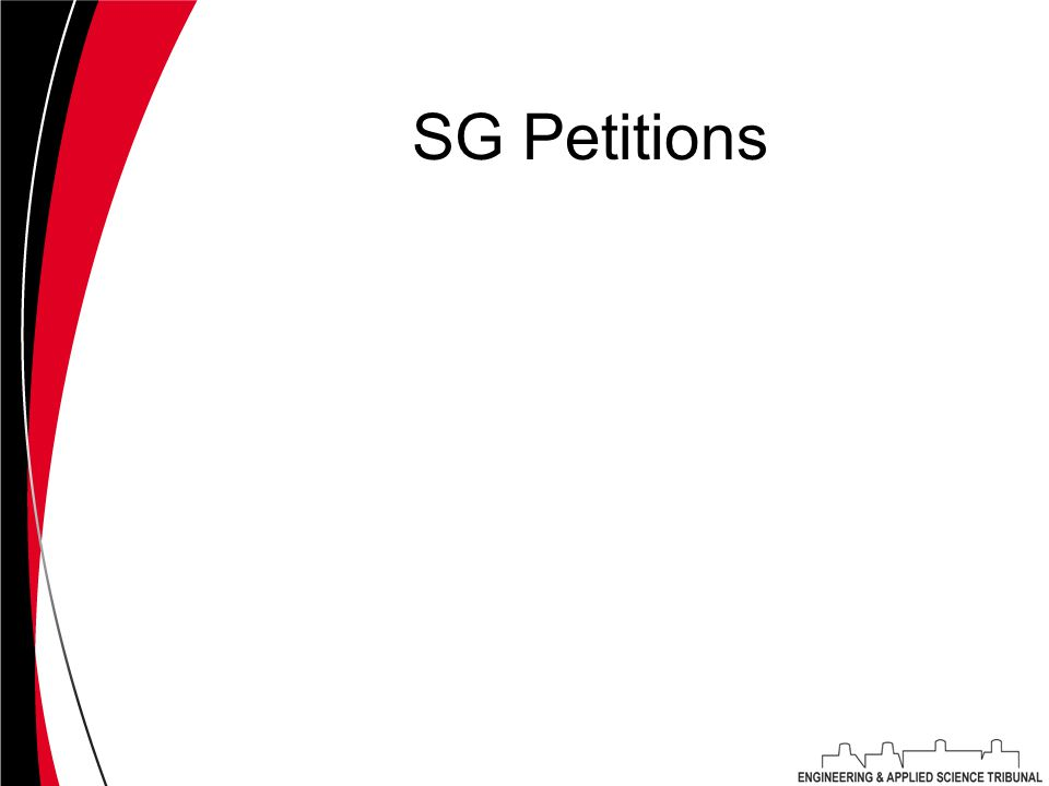 SG Petitions