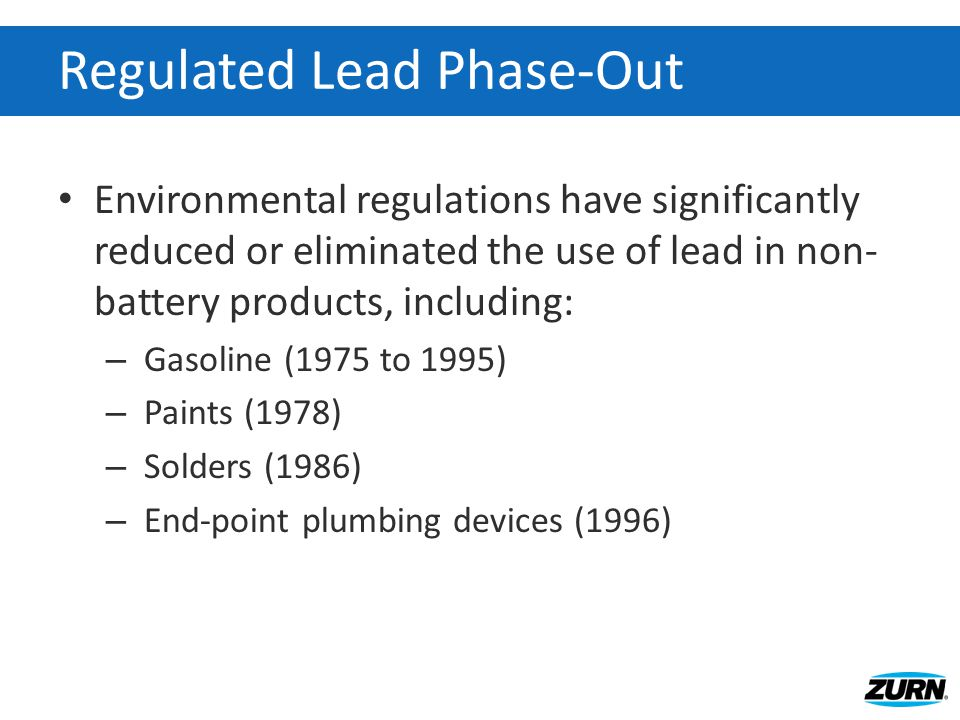 Why is Lead an Issue.
