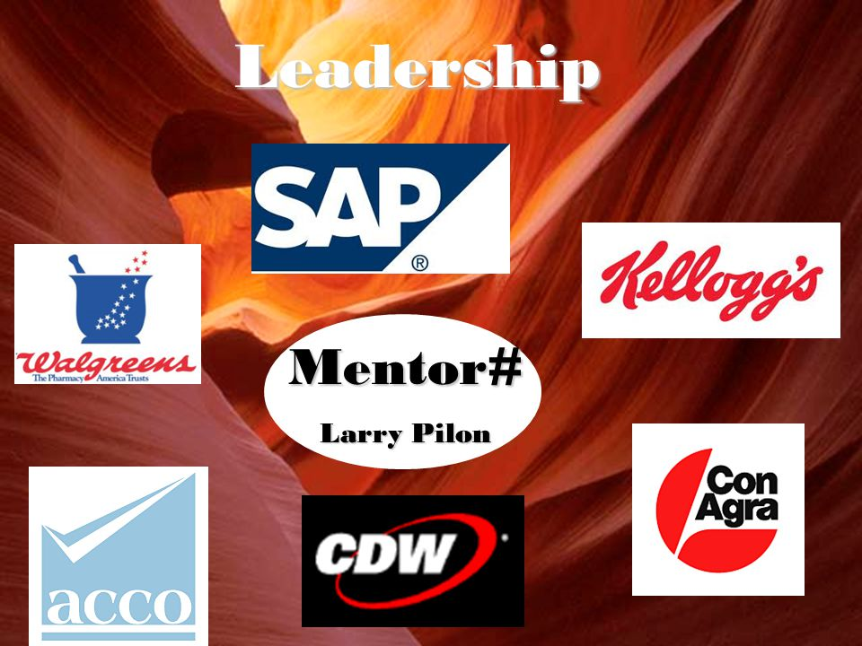 Mentor# Larry Pilon Leadership
