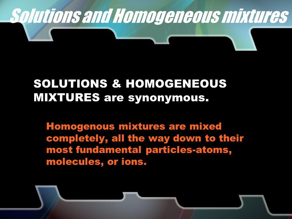 homogeneous heterogeneous