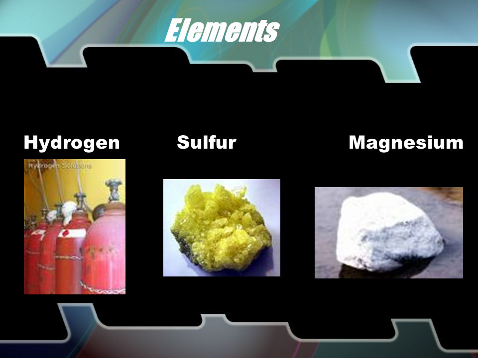 Atoms are matter Elements most abundant in the earth and human body are: