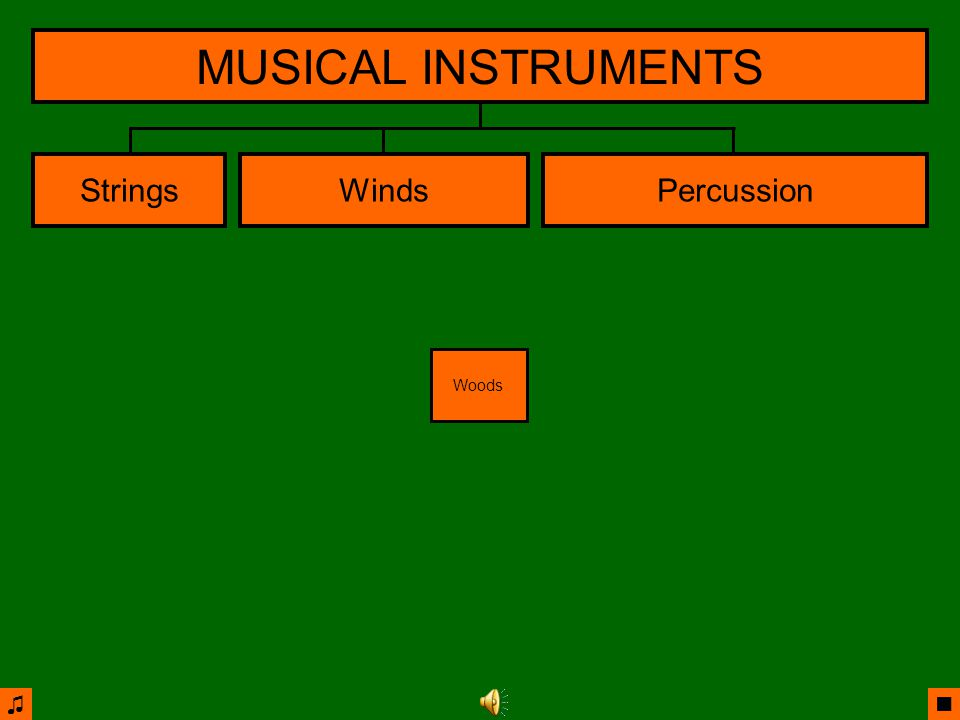 ♫ ■ StringsWindsPercussion MUSICAL INSTRUMENTS Voices