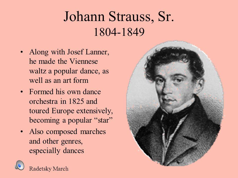 Johann Strauss, Sr.