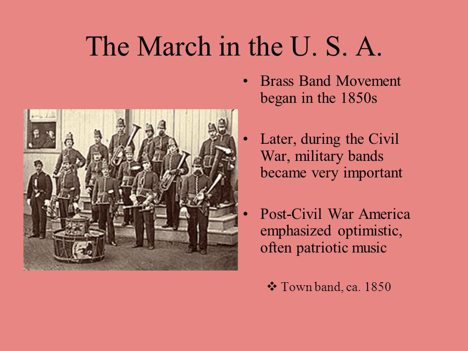 The March in the U. S. A.