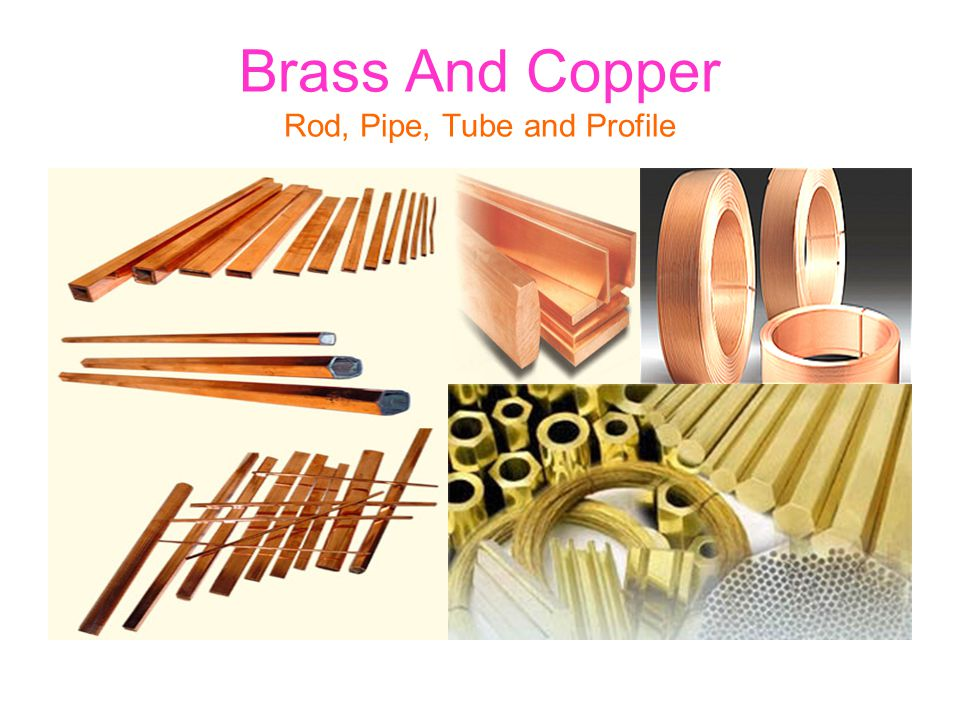 Brass And Copper Rod, Pipe, Tube and Profile