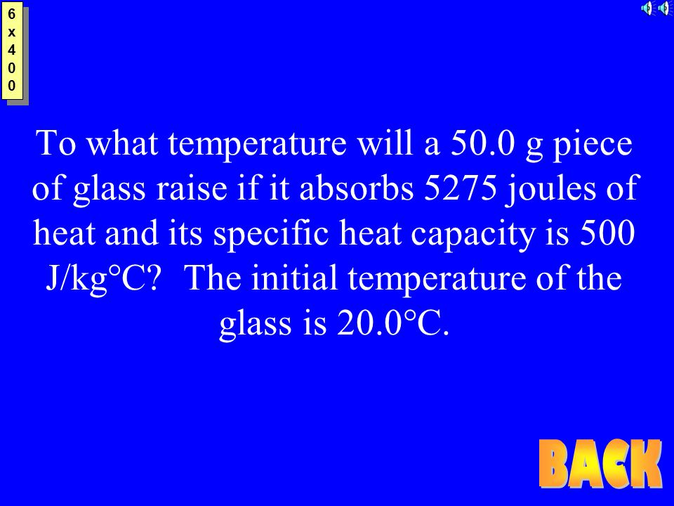 6x3006x300 6x3006x300 25.0 g of mercury is heated from 25°C to 155°C, and absorbs 455 joules of heat in the process.