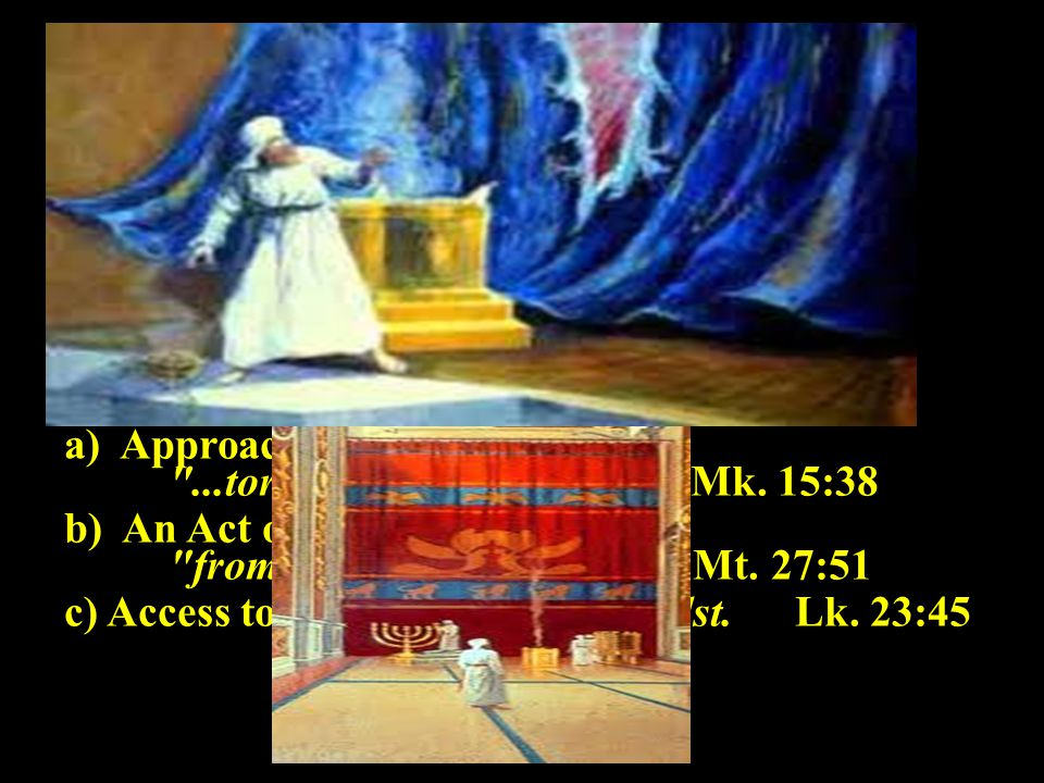 ii.The Veil in the Tabernacle. iii. The Veil in the Temple.