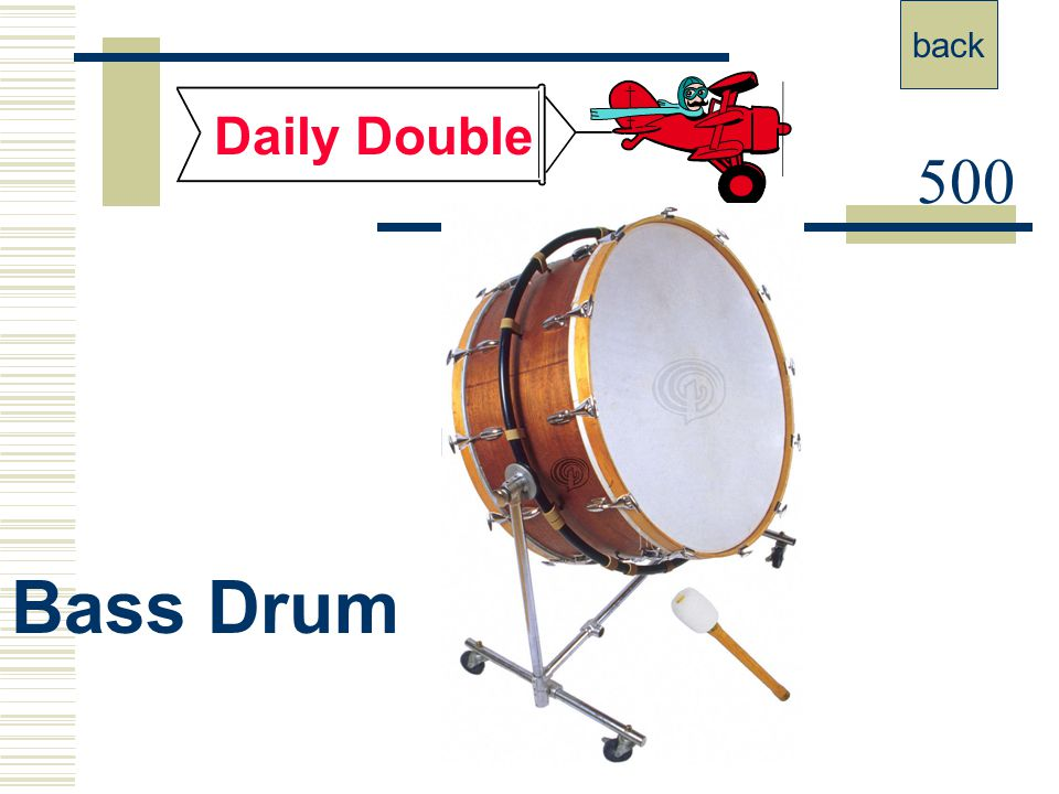 400 Daily Double Drum Set back