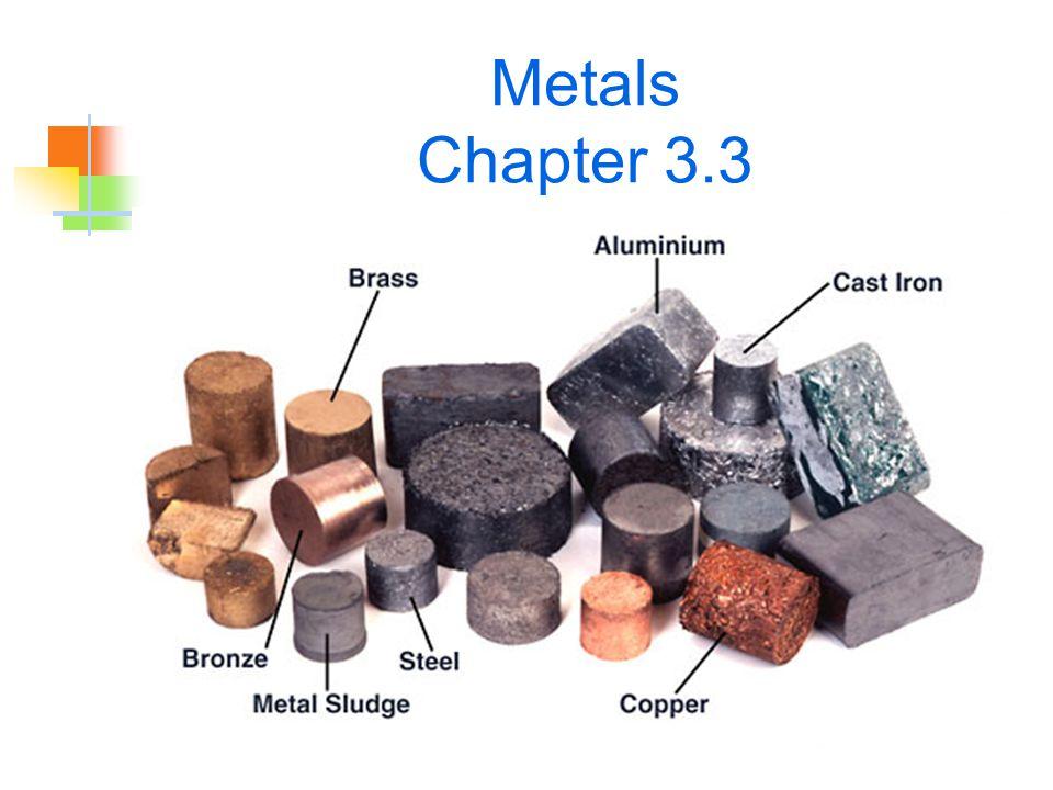 Metals Chapter 3.3