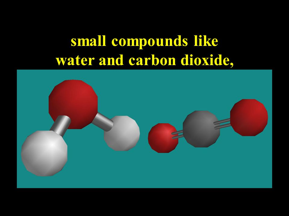 Covalent bonding allows for an amazingly large variety of compounds such as