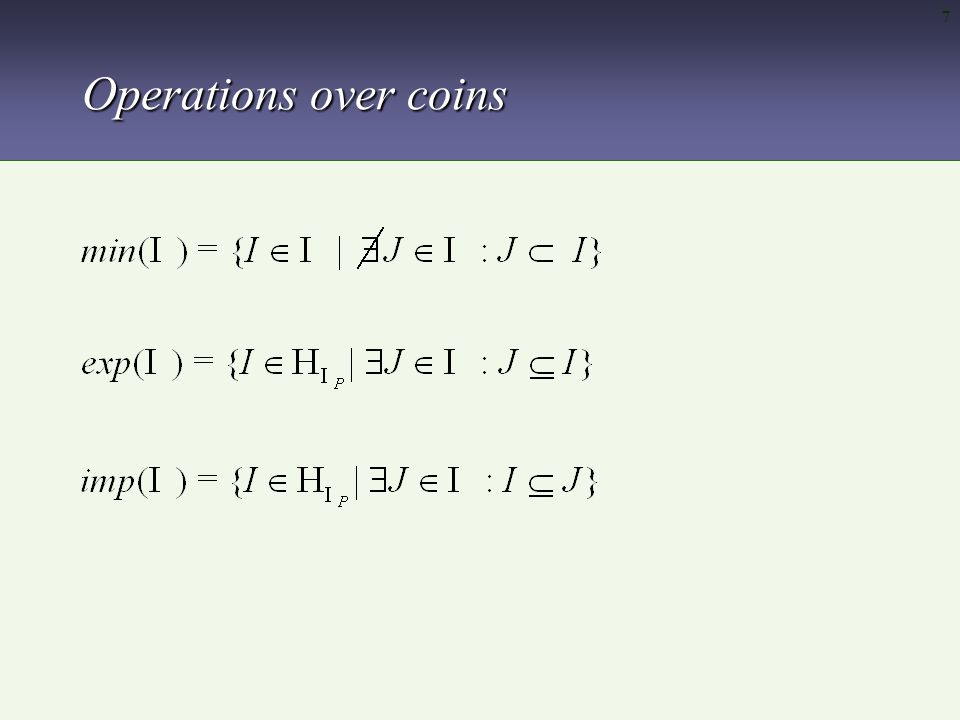 18 A fixed point based definition of WFS d A divided program is obtained as follows