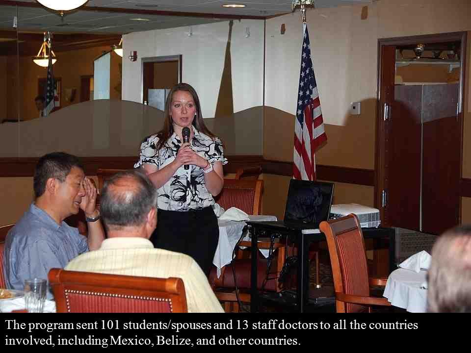 For her presentation, Emily focused on Honduras.