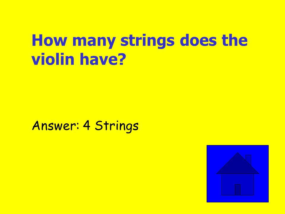 I am the biggest and lowest sounding string instrument. Who am I? Answer: String Bass