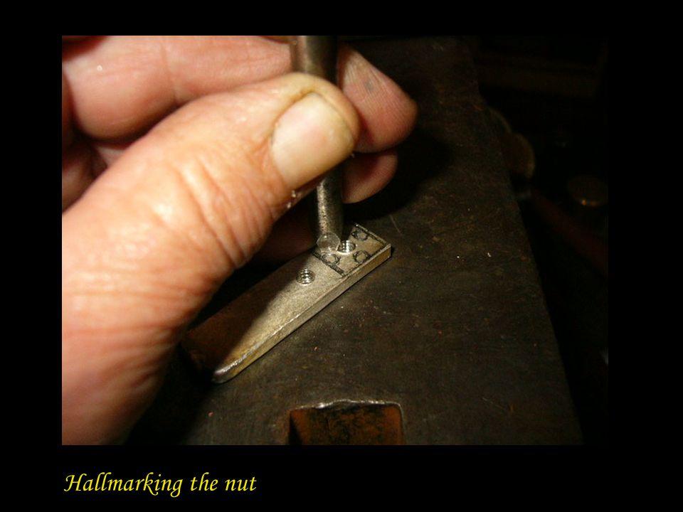 Hallmarking the nut