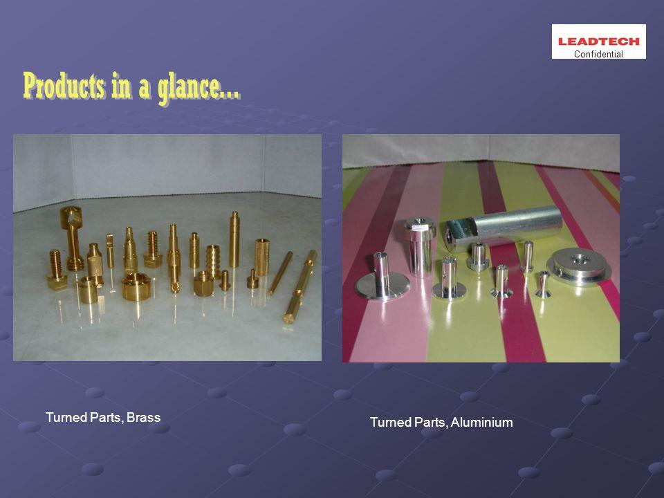 Turned Parts, Brass Turned Parts, Aluminium Confidential