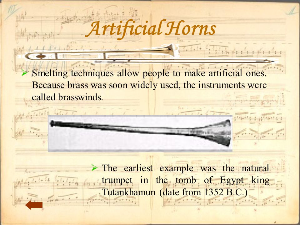 Artificial Horns  Smelting techniques allow people to make artificial ones.