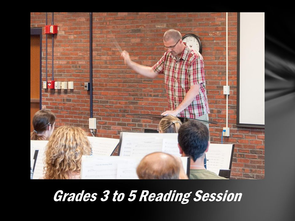Grades 3 to 5 Reading Session
