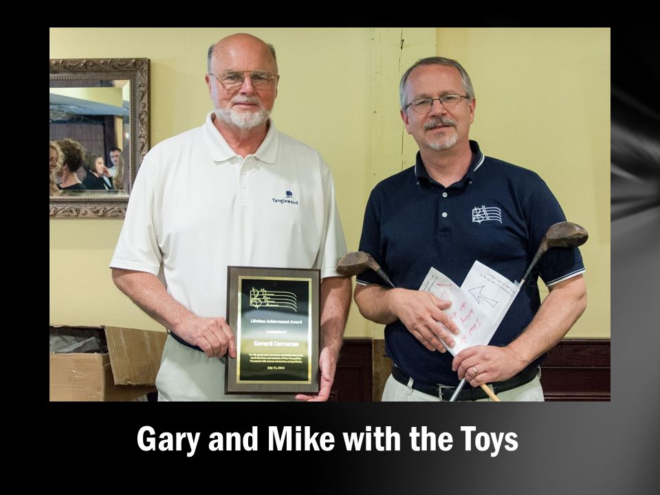Gary and Mike with the Toys