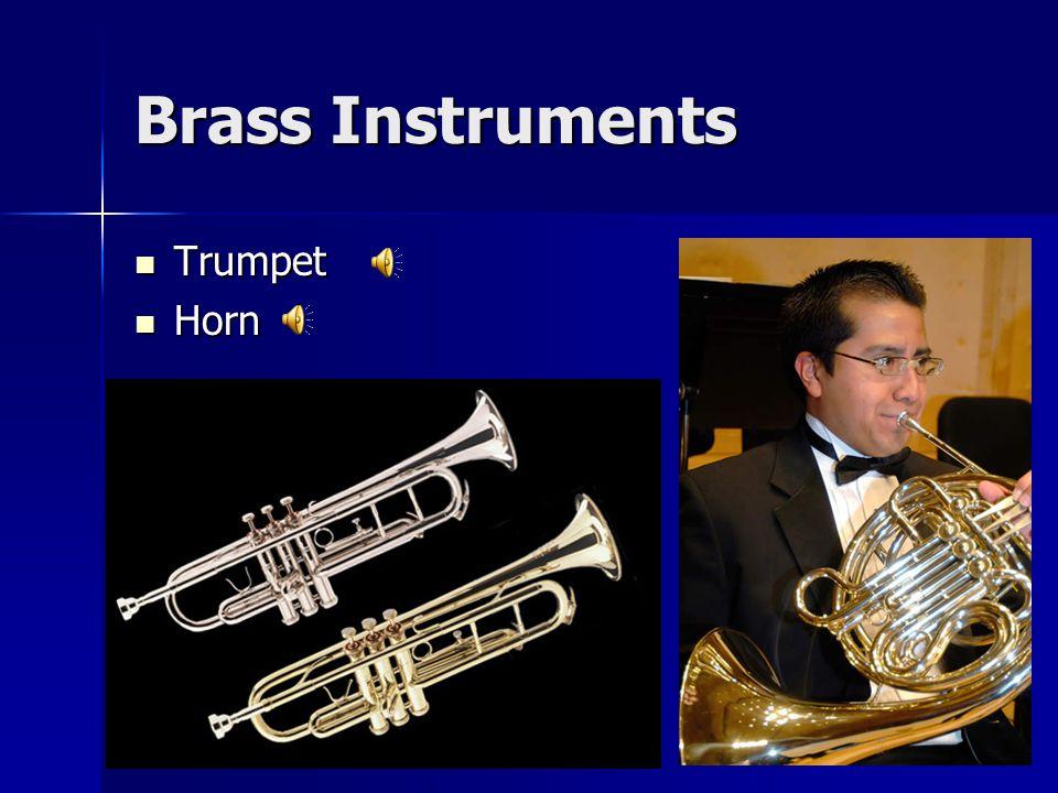 Brass Instruments Trumpet Trumpet Horn Horn