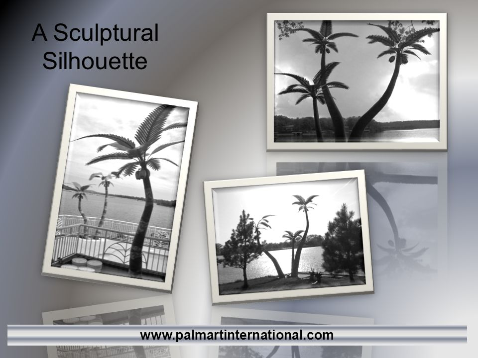 A Sculptural Silhouette www.palmartinternational.com
