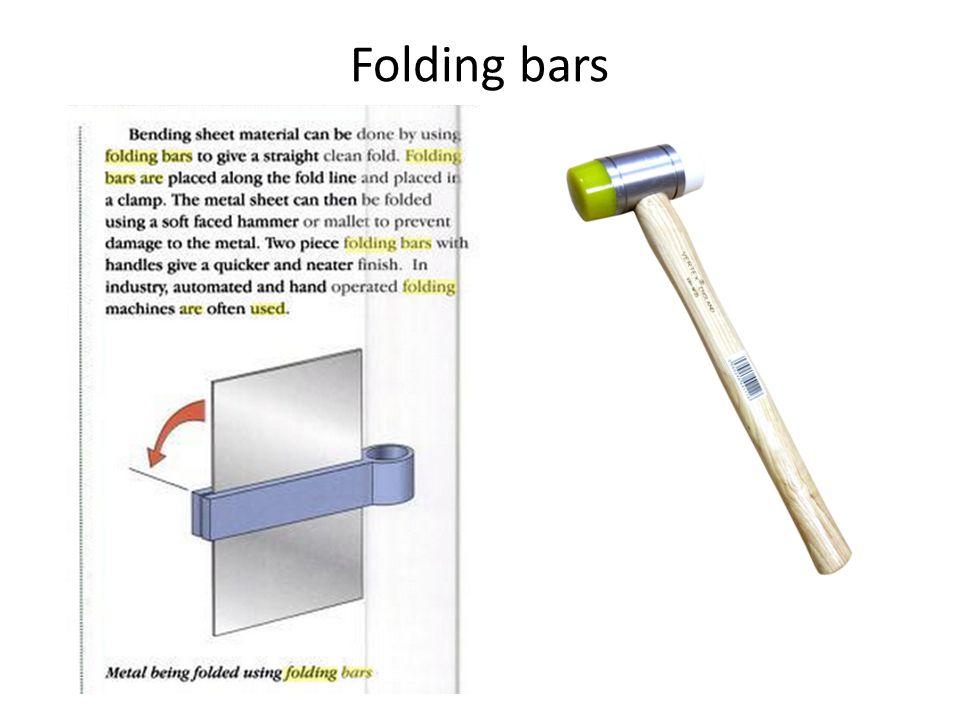 Folding bars