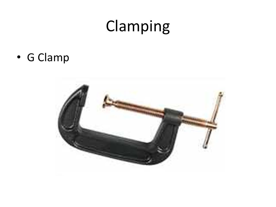 Clamping G Clamp