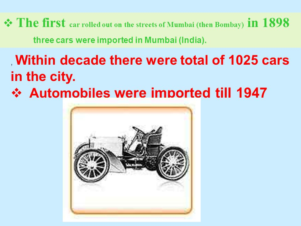 Indian Automobile History