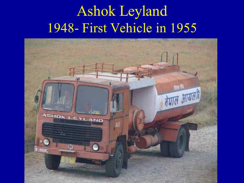 1944 - Premier automobiles started 1945 Establishment of Tata Engineering and Locomotive Co.