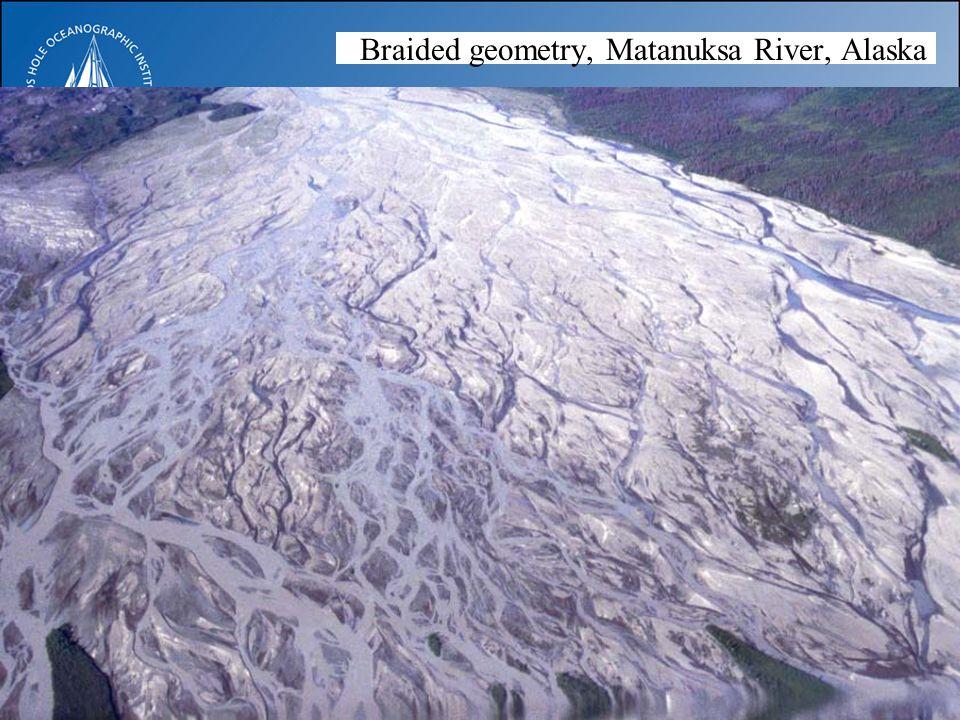 Braided geometry, Matanuksa River, Alaska