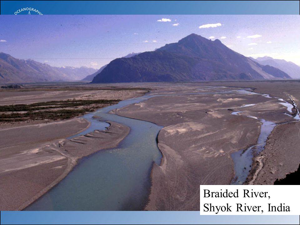 Braided River, Shyok River, India